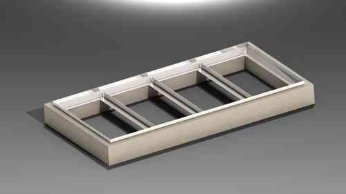 TR.1020.R3B Betonkranz für 4 Deckel Typ 100B HMT Art 314-21-3414