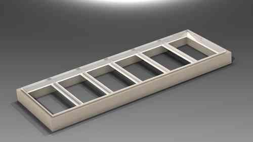 TR.1030.R3B Betonkranz für 6 Deckel Typ 100B HMT Art 314-21-3416