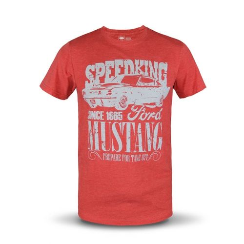 "Ford Mustang T-Shirt ""Speedking"""