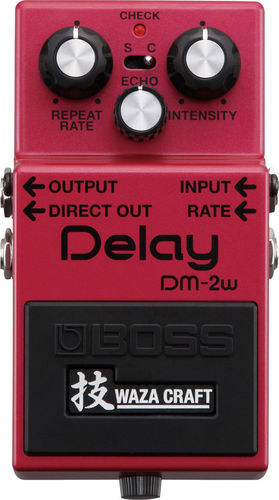 Boss Analog Delay DM-2w Waza Craft