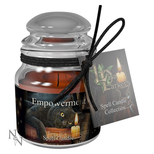 Empowerment Spell Candle - Patchouli