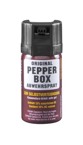 Pfefferspray Pepper-Box kein 40ml Nebel