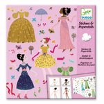 Stickers & Paper dolls  - Djeco