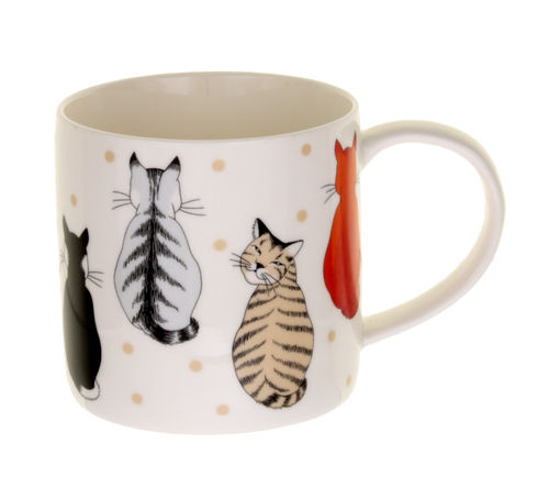 "Tasse ""Cats in Waiting"" von Ulster Weavers. Mug"