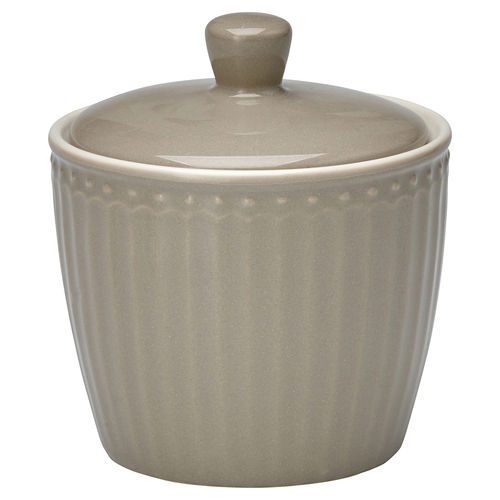 "Zuckerdose ""Alice"" (warm grey) von GreenGate. Sugar pot"