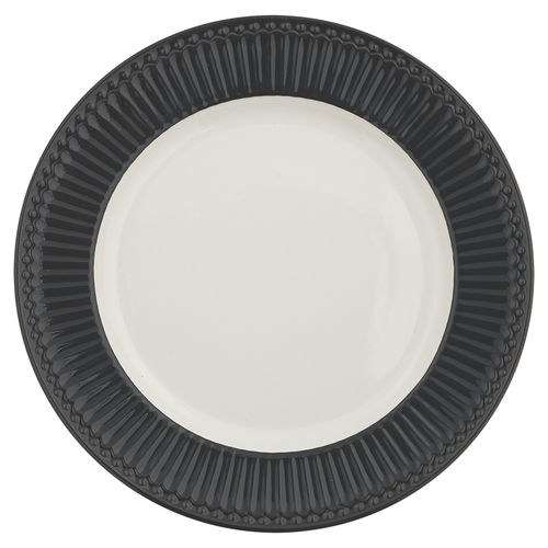 "Essteller ""Alice"" (dark grey) von GreenGate. Speiseteller - Dinner plate"