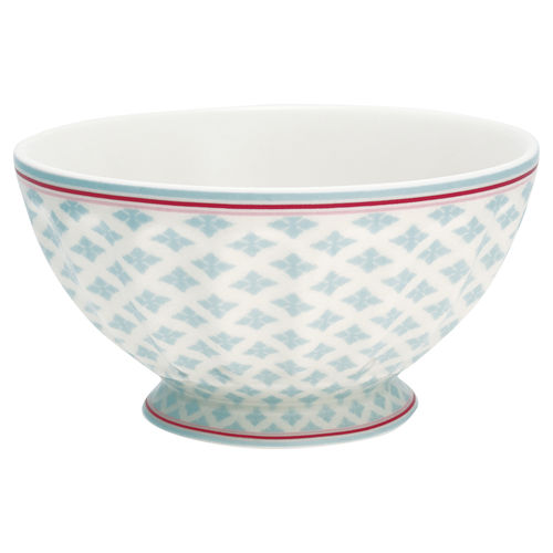 "Schale ""Sasha"" (blue) von GreenGate. French bowl x-large"