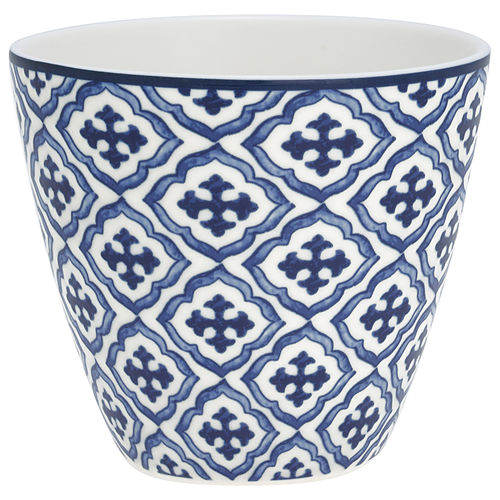 "Latte Cup ""Hope"" (blue) von GreenGate. Tasse - Becher - Chacheli"