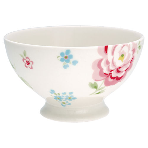 "Suppenschale ""Meryl"" (white) von GreenGate. Soup bowl"