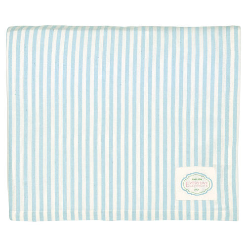 "Tischdecke ""Alice"" (stripe pale blue), 145x250cm von GreenGate. Tablecloth"