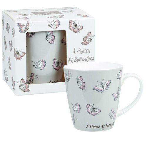 "Tasse ""Flutter of Butterflies"" von Queens by Churchill. Mug"