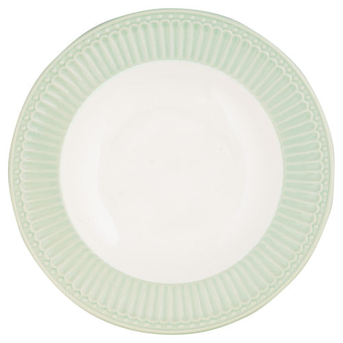 "Suppenteller ""Alice"" (pale green) von GreenGate. Tiefer Teller - Deep Plate"