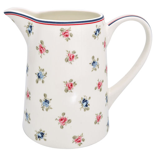 "Grosser Krug ""Hailey"" (white) von GreenGate. Jug"