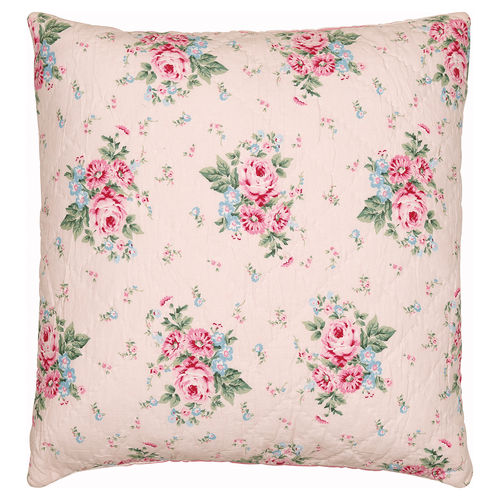 "Kissenhülle ""Marley"" (pale pink), gesteppt, 50x50cm von GreenGate. Quilted cushion"