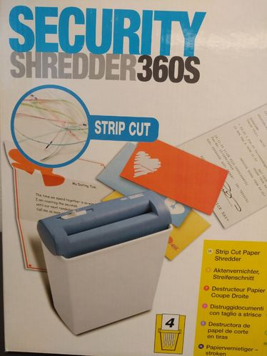 Shredder GBC Security 360S