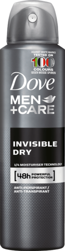 Dove Men + Care Invisible Dry dédorant spray