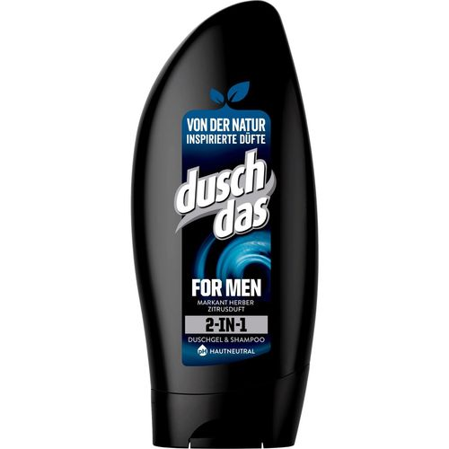 Duschdas For Men 2 in 1 shampoing & gel douche